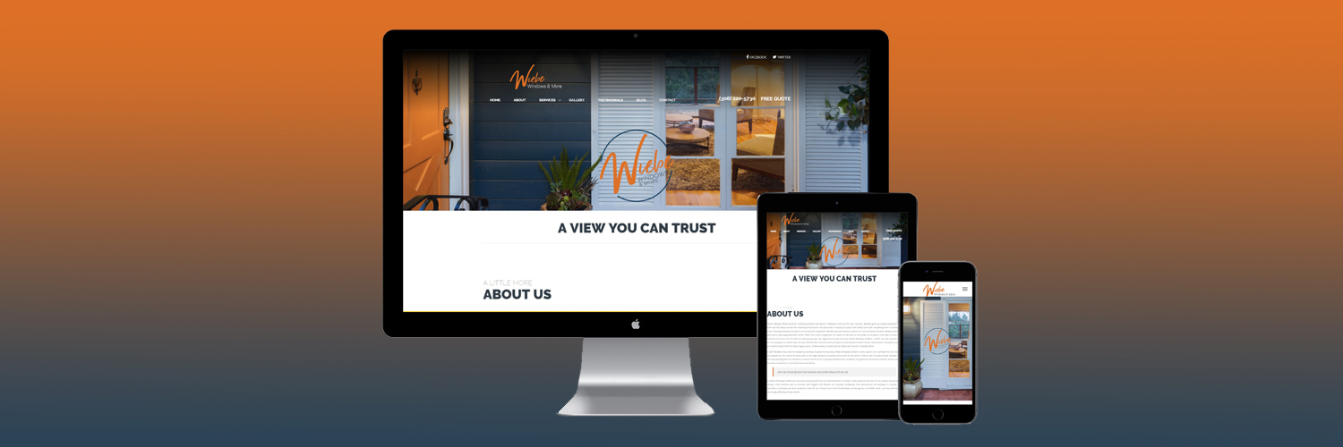 Wiebe Windows & More's New Website